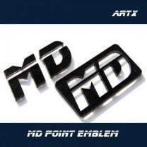 [ARTX] Hyundai Avante MD - Lettering Point Emblem MD - No.53