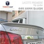 Лип-спойлер на багажник - GM-Daewoo Lacetti Premiere (TOMATO)