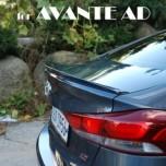 [ARTX] Hyundai Avante AD - Luxury Trunk Lip Spoiler