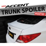 [SQ BASIC] Hyundai New Accent - Trunk Lip Spoiler