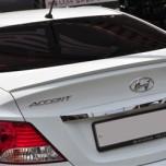 [MIJOOCAR] Hyundai New Accent - Urethane Trunk Lid Spoiler Set