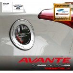 [EXOS] Hyundai Avante MD - Clear Oil Cover with Oil cap