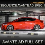 [SEQUENCE] Hyundai Avante AD - SPEC-1 Aeroparts Full Body Kit
