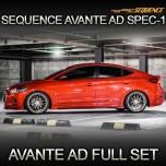 [SEQUENCE] Hyundai Avante AD - SPEC-1 Aeroparts Full Body Kit
