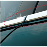 [AUTO CLOVER] Hyundai i30-Window Accent Chrome Molding Set (A882)
