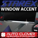 [AUTO CLOVER] Hyundai New Starex - Window Accent Chrome Molding Set (A884)
