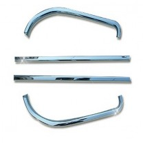 [AUTO CLOVER] Hyundai Grand Starex - Window Accent Chrome Molding Set ( A916)