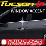 [AUTO CLOVER] Hyundai Tucson iX - Window Accent Chrome Molding Set (A919)