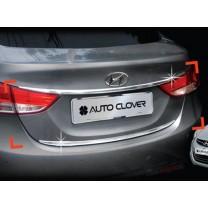 [AUTO CLOVER] Hyundai Avante MD - Trunk Chrome Molding (C752)