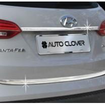 [AUTO CLOVER] Hyundai Santa Fe DM - Trunk Chrome Molding Set (C753)