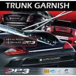 [AUTO CLOVER] Hyundai YF Sonata - DP-3 B-Line Trunk Garnish Set (D312)