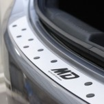 [ZEO] Hyundai Avante MD - Premium Metallic Trunk Guard Plate