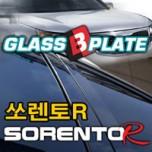 [EXOS] KIA Sorento R - Glass B Plate Molding Set