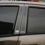 [ARTX] GM-Daewoo Matiz Creative - Luxury Generation Glass B Pillar Molding Set