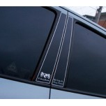 [ARTX] Hyundai Santa Fe CM - Luxury Generation Glass B Pillar Molding