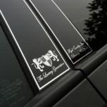[ARTX] Hyundai Tucson iX  - Luxury Generation Glass B Pillar Molding Set