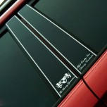[ARTX] KIA Soul  - Luxury Generation Glass B Pillar Molding Set