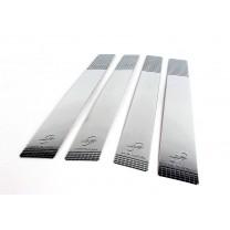 [KYOUNG DONG] KIA Soul - B Pillar Chrome Molding Set (K-847)