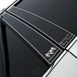 [ARTX] KIA All New Morning - Luxury Generation Glass B Pillar Molding Set