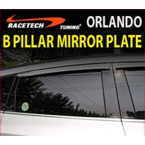[RACETECH] Chevrolet Orlando - Glass B Pillar Mirror Plate Set