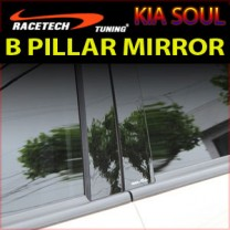 [RACETECH] KIA Soul - Glass B Pillar Mirror Plate Set