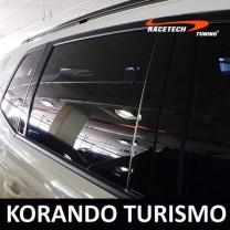 [RACETECH] SsangYong Korando Turismo - Glass B Pillar Mirror Plate Set (6P)