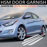 [HSM] Hyundai Avante MD - Side Door Chrome Molding Set