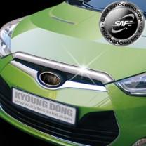 [KYOUNG DONG] Hyundai Veloster - Bonnet Chrome Molding Set (K-882)