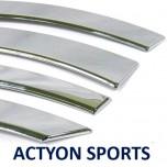 [AUTO CLOVER] SsangYong Actyon Sports - Fender Chrome Molding (A357)