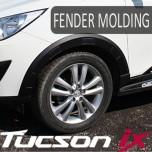 [HANIL] Hyundai Tucson iX - Fender Black Molding Set