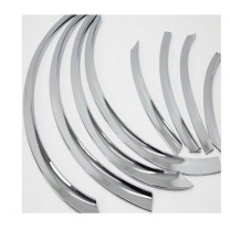 [AUTO CLOVER] Hyundai New Accent - Fender Chrome Molding Set (C600)