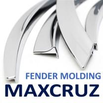 [AUTO CLOVER] Hyundai MaxCruz - Fender Chrome Molding Set (C611)