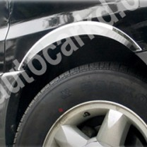 [KYUNG DONG] Hyundai New Starex - Fender Side Chrome Molding Set (K-916)