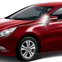 [AUTO CLOVER] Hyundai YF Sonata - Mirror Bracket Chrome Molding Set (B410)