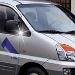 [AUTO CLOVER] Hyundai New Starex - Mirror Bracket Chrome Molding Set (B416)