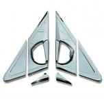[AUTO CLOVER] SsangYong Korando C - Mirror Bracket Chrome Molding Set (B430)