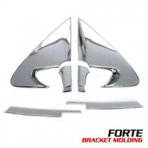 [AUTO CLOVER] KIA Forte - Mirror Bracket & C Pillar Chrome Molding Package (B908)