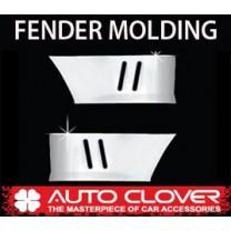 [AUTO CLOVER] Hyundai Porter II Regular Cab - Fender Chrome Molding Set (C207)