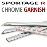 [AUTO CLOVER] KIA Sportage R - Window Chrome Molding Set (C101)
