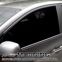 [AUTO CLOVER] KIA All New Morning - Window Chrome Molding Set (C106)