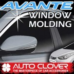 [AUTO CLOVER] Hyundai Avante MD - Window Chrome Molding Set (C107)