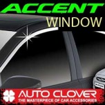[AUTO CLOVER] Hyundai New Accent - Window Chrome Garnish (C115)