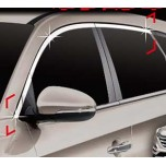 [AUTO CLOVER] Hyundai Tucson TL - Window Chrome Molding Set (C137)
