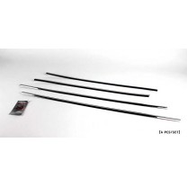 [KYUNG DONG] KIA K5 - Chrome Window Molding Set (K-243)