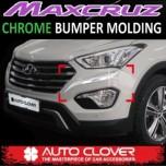 [AUTO CLOVER] Hyundai MaxCruz - Front & Rear Bumper Chrome Molding Set (C701)