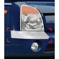 [AUTO CLOVER] Hyundai Porter II - Front Bumper Chrome Molding (C342)
