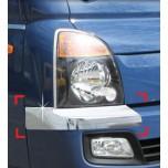 [AUTO CLOVER] Hyundai Porter II - Front Bumper Chrome Molding (C343)