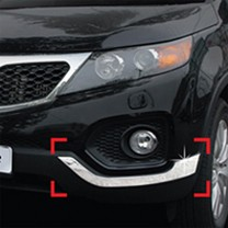 [AUTO CLOVER] KIA Sorento R - Front & Rear Bumper Chrome Garnish Set (C331)