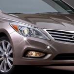 [AUTO CLOVER] Hyundai 5G Grandeur HG  - Front & Rear Bumper Chrome Garnish Set (C334)