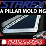[AUTO CLOVER] Hyundai Starex - A Pillar Chrome Molding Set (A900)
